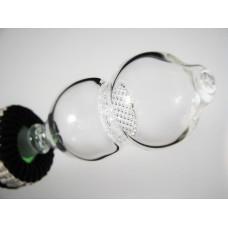 Designer Glass Mouth Piece #257
