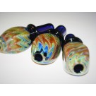 "*The Pond^3"" Signature Glass Mouth Piece***Independence Day Sale***"