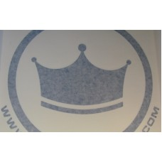 "Crown Hookahs ""Icon"" Decal Sticker - 9"""