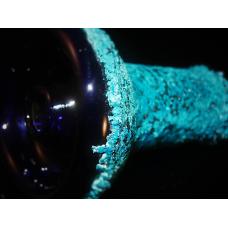 "Designer ""Electroformed"" Glass Hookah Bowl #3 (Micro)"