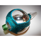 """Electroformed"" Designer Glass Mouth Piece #7"