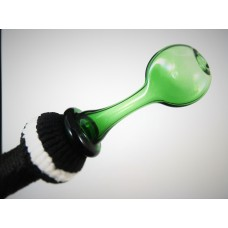 """""""The Wand v3 - Emerald"""" Signature Glass Mouth Piece"""