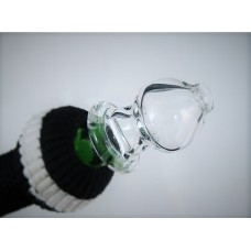 """The Mini Orb"" Signature Glass Mouth Piece"