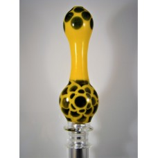 """Bloom""  - Designer Glass Mouth Piece - D Series #8"