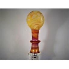 """Chrism""  - Designer Glass Mouth Piece - D Series #17"